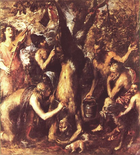 Titian: Flaying of Marsyas