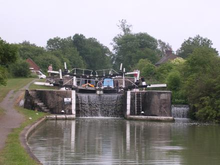 the ladder locks at Bascote