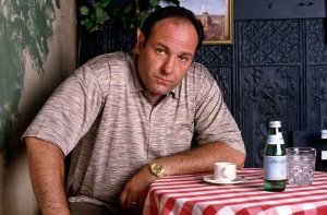 Gandolfini as mafia boss Tony Soprano