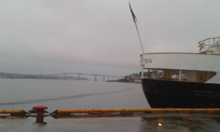 Bridge, boat, wharf.